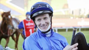 James McDonald will reunite with Zaaki in the Cox Plate. Picture: Getty Images