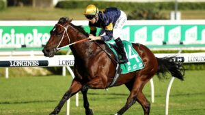 Masked Crusader is ready to provide his owners with a win in the TAB Everest. Picture: Getty Images