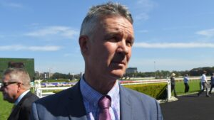Trainer Matthew Smith was philosophical after his runner Keiai Nautique was omitted from the field for Saturday's Cox Plate. Picture: AAP