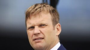 Warwick Farm trainer Bjorn Baker. Picture: Getty Images