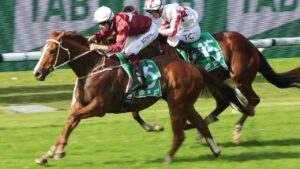 Ready To Humble winning at Rosehill. Picture: AAP Image