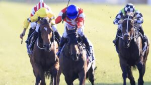 Icebath won The Invitation at Randwick to the relief of her connections. Picture: Getty Images