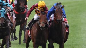 State of Rest and Anamoe come together in the Cox Plate at The Valley. Picture: Michael Klein