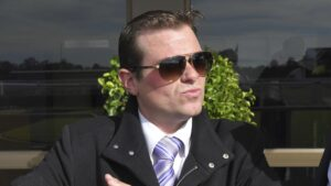 Trainer Blake Ryan has a big couple of days ahead with Critical Time on debut at Hawkesbury on Tuesday and 16 youngers at the Ready2Race sale.