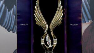 The Golden Eagle trophy. Photo: AAP Image/Bianca De Marchi.