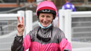 Linda Meech is in sensational form. Picture: Racing Photos via Getty Images