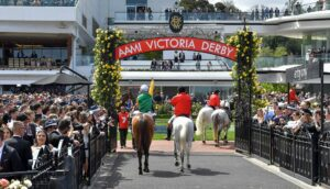 Flemington on Victoria Derby Day – it doesn't get much better. Photo: John Donegan/Getty Images.